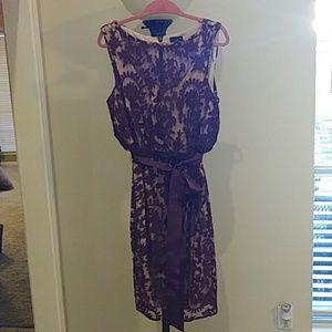 Beautiful lace dressy dress size 14